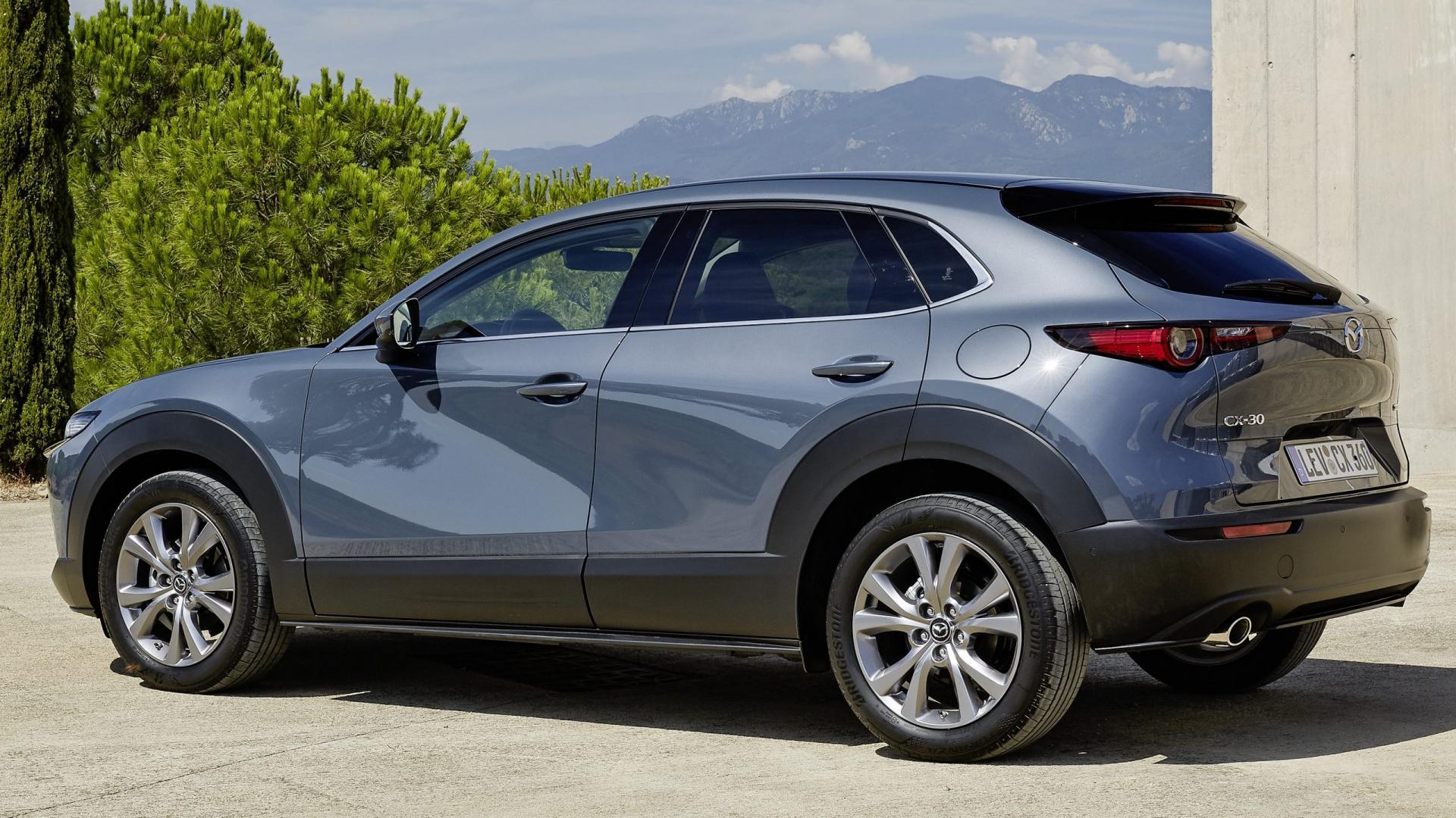 Mazda CX-30 2019 drie kwart achter