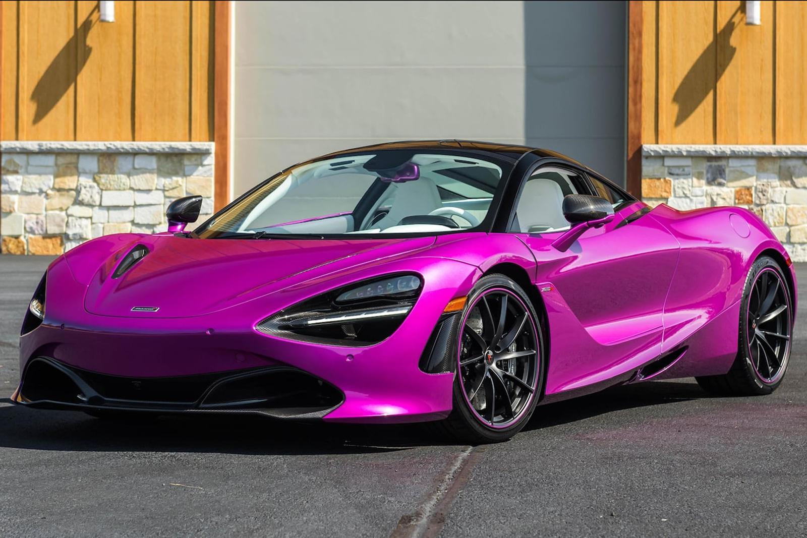 McLaren 720S Fuxia Fuchsia