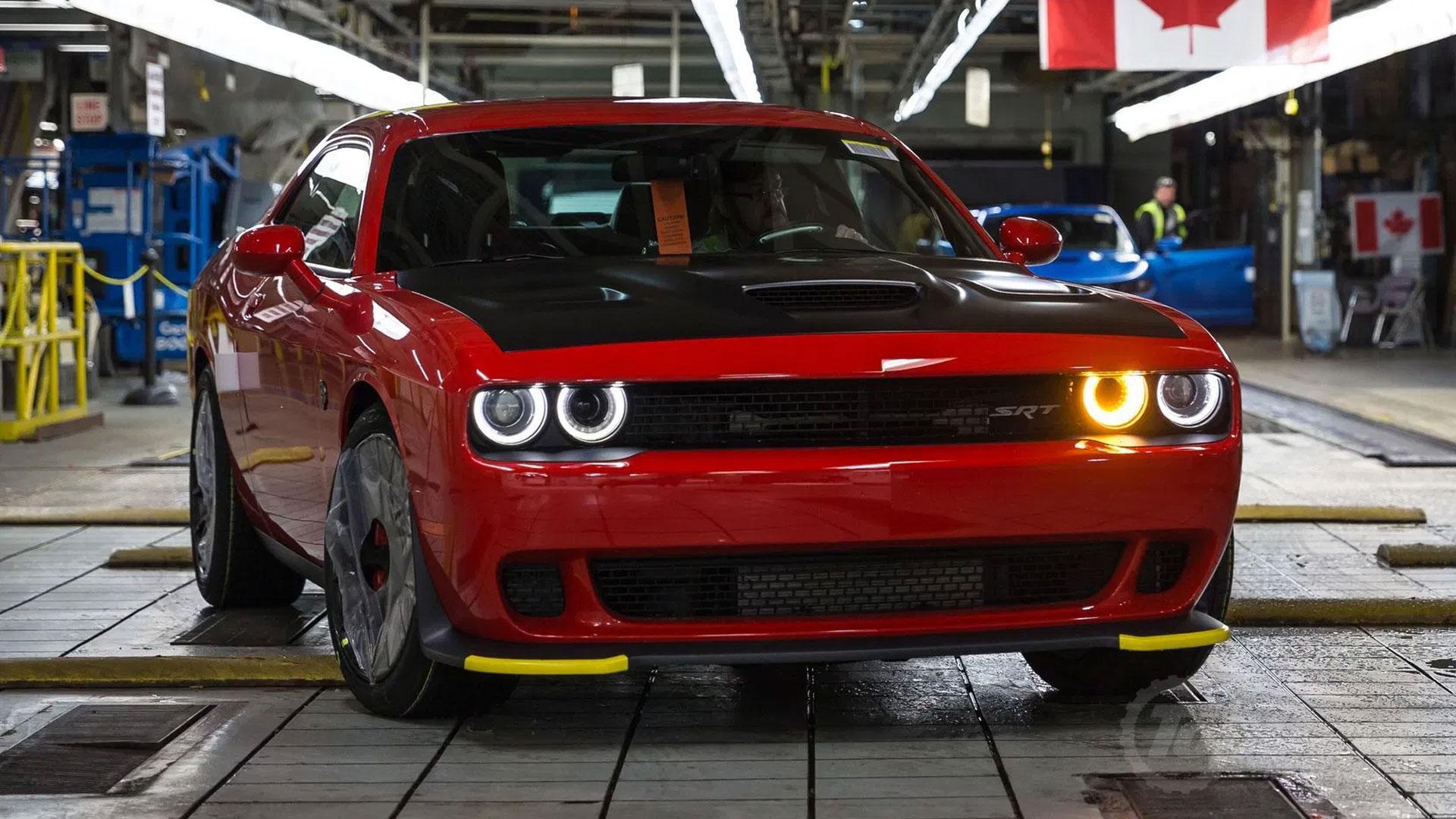 Dodge bumperbeschermer Challenger Hellcat