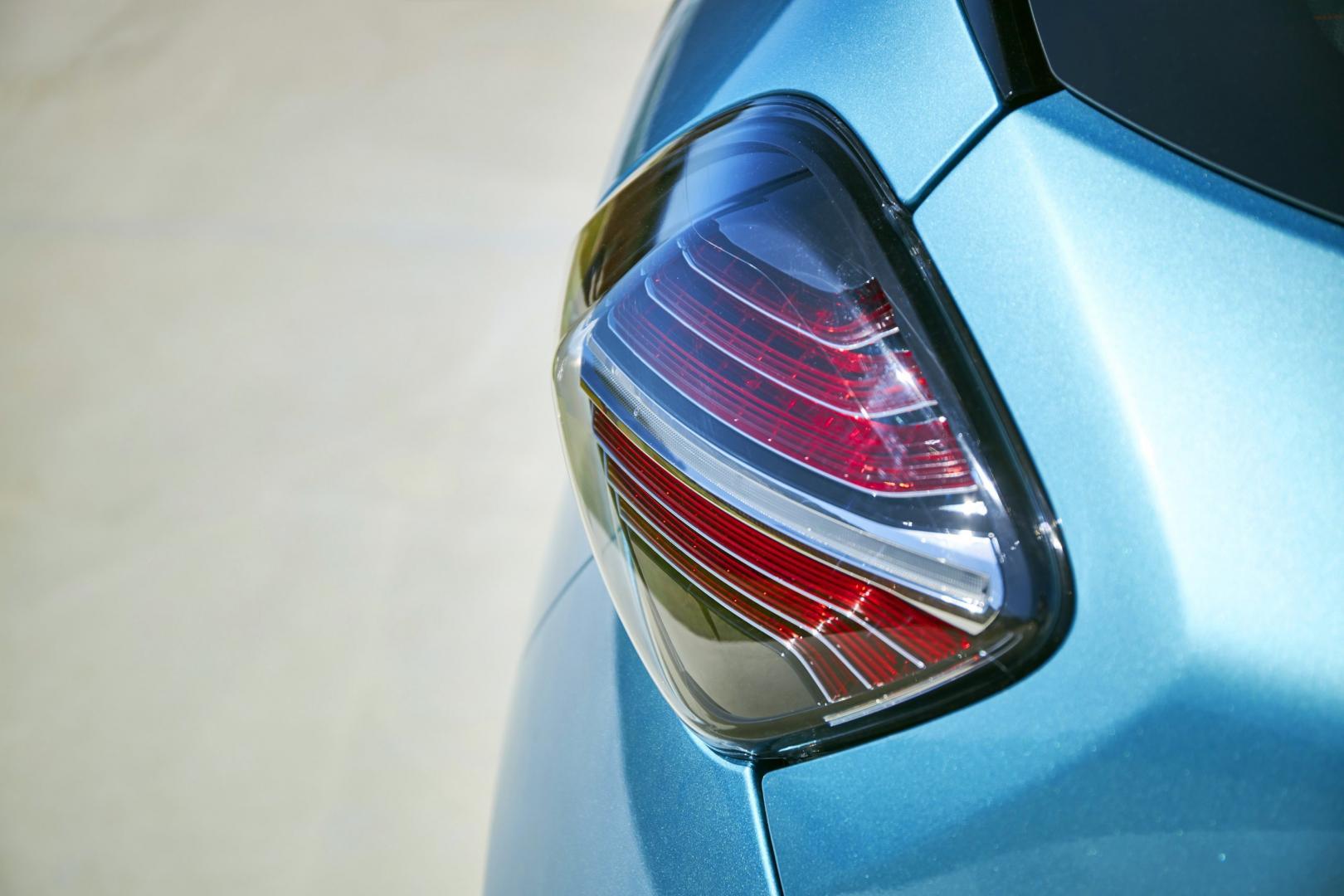 Renault Zoe detail achterlicht 2019