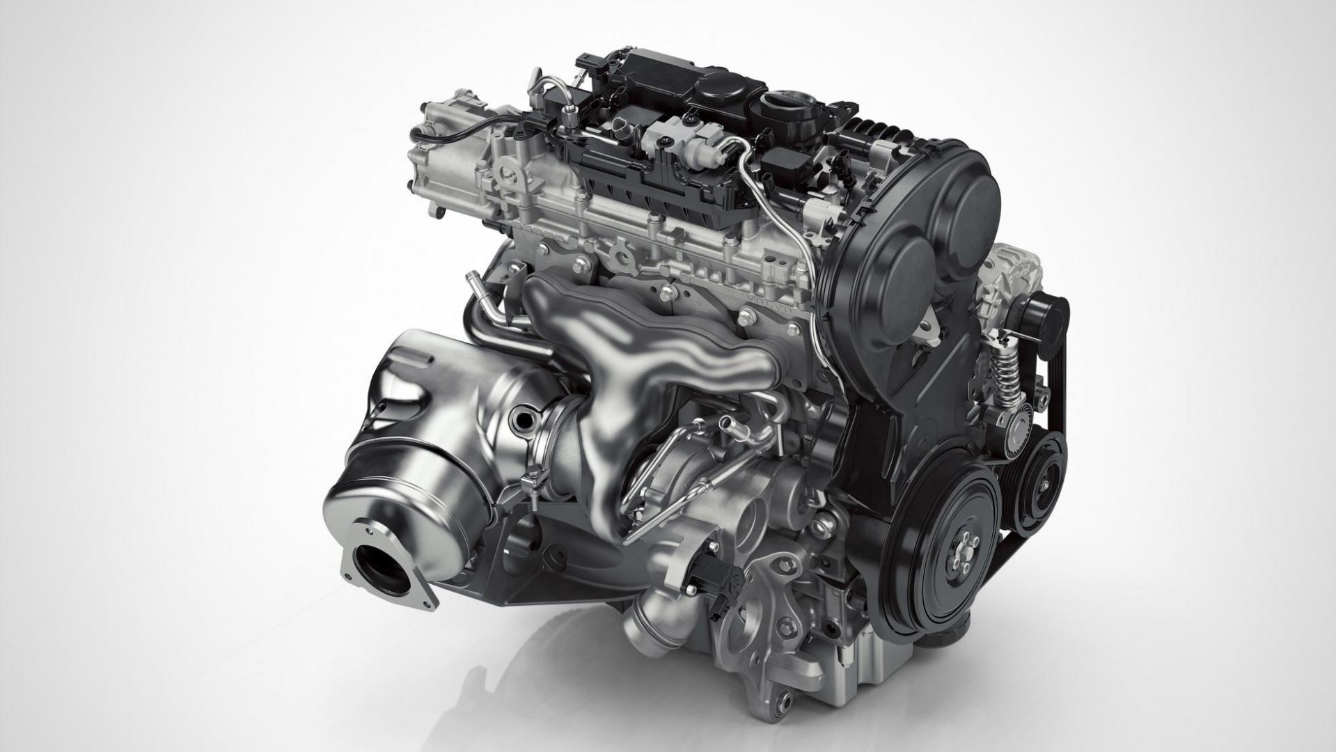 viercilinder benzine motor