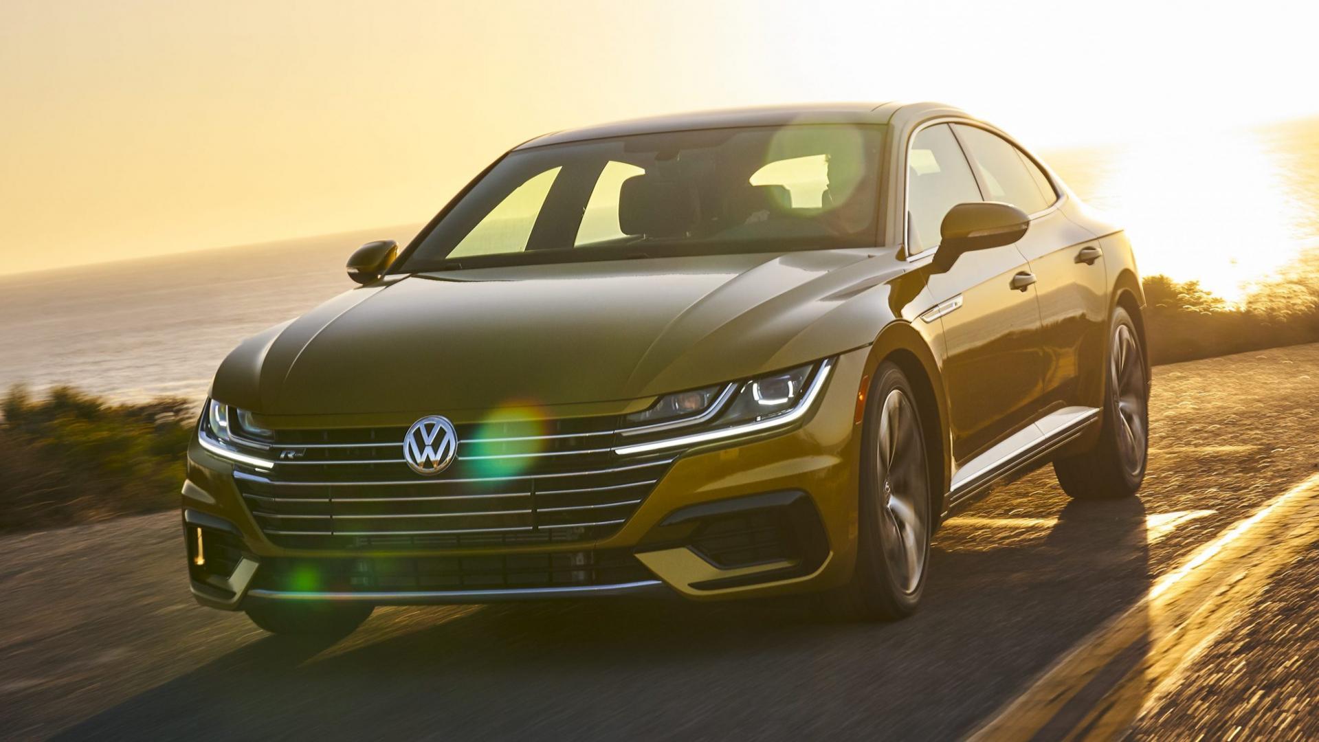 Volkswagen Arteon R-Line Goud USDM