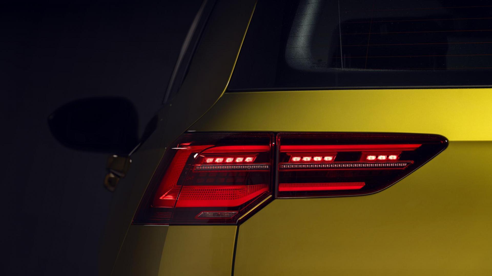 Volkswagen Golf 8 achterlicht