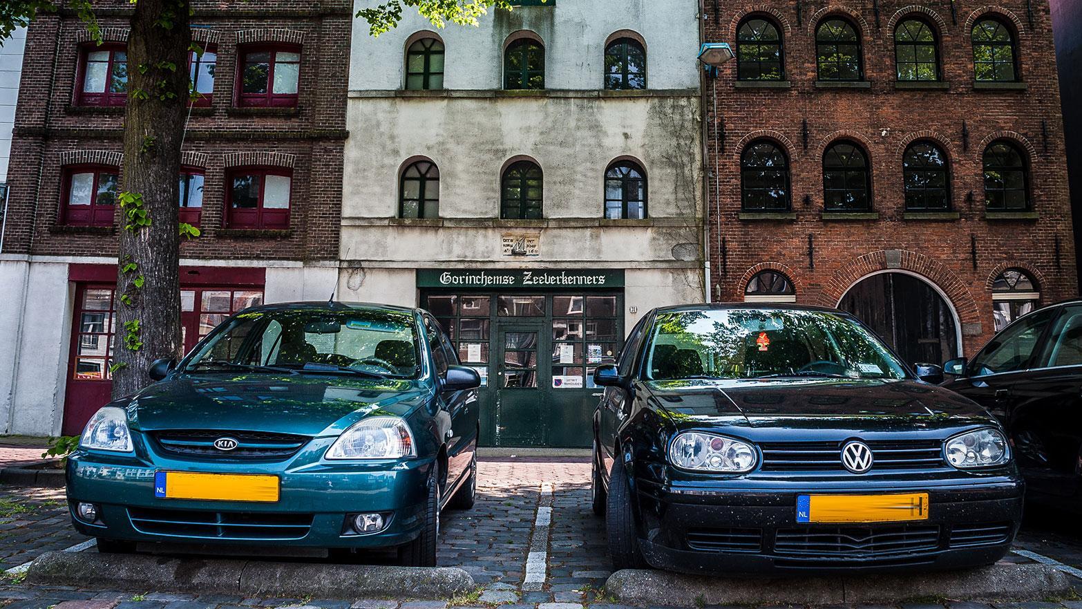 VW Golf 4 en Kia Rio