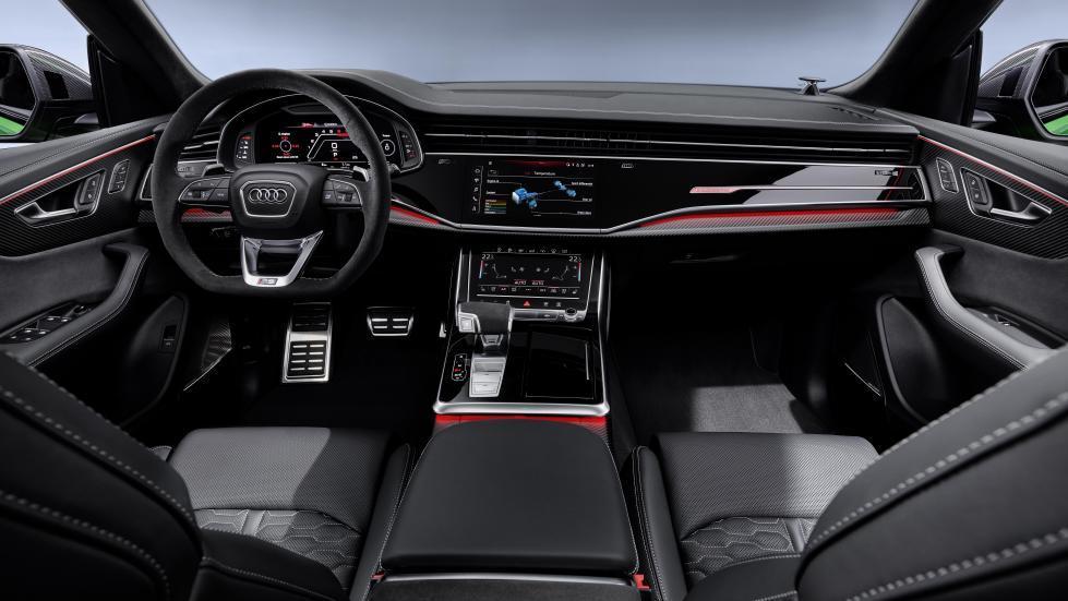 Audi RS Q8 interieur midden