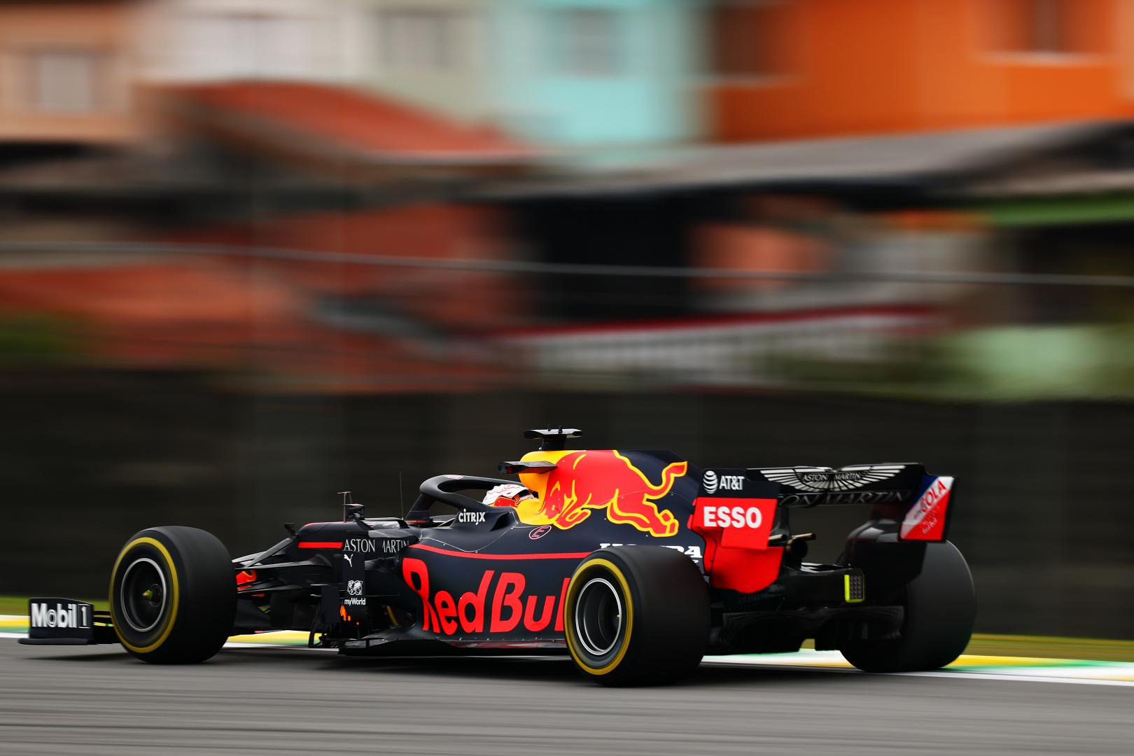 Max Verstappen drie kwart achter GP van Brazilië 2019