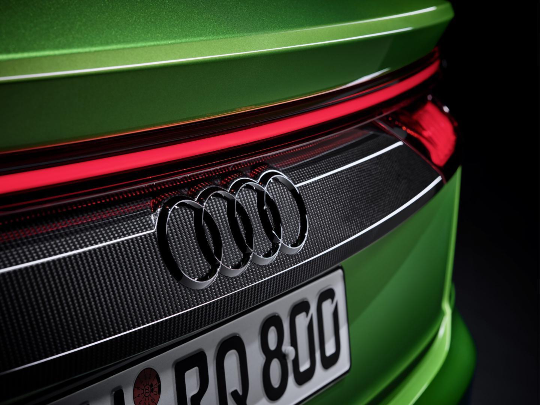 Audi RS Q8 detail achterlicht