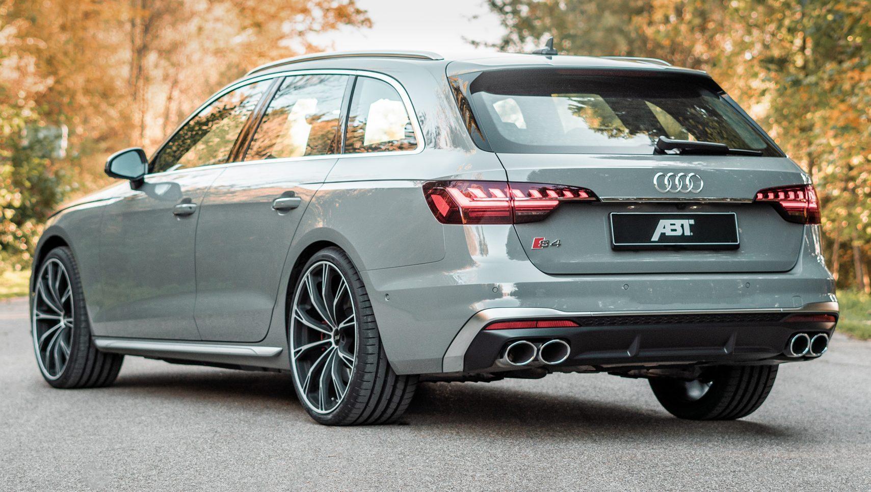 Abt Audi S4 drie kwart achter
