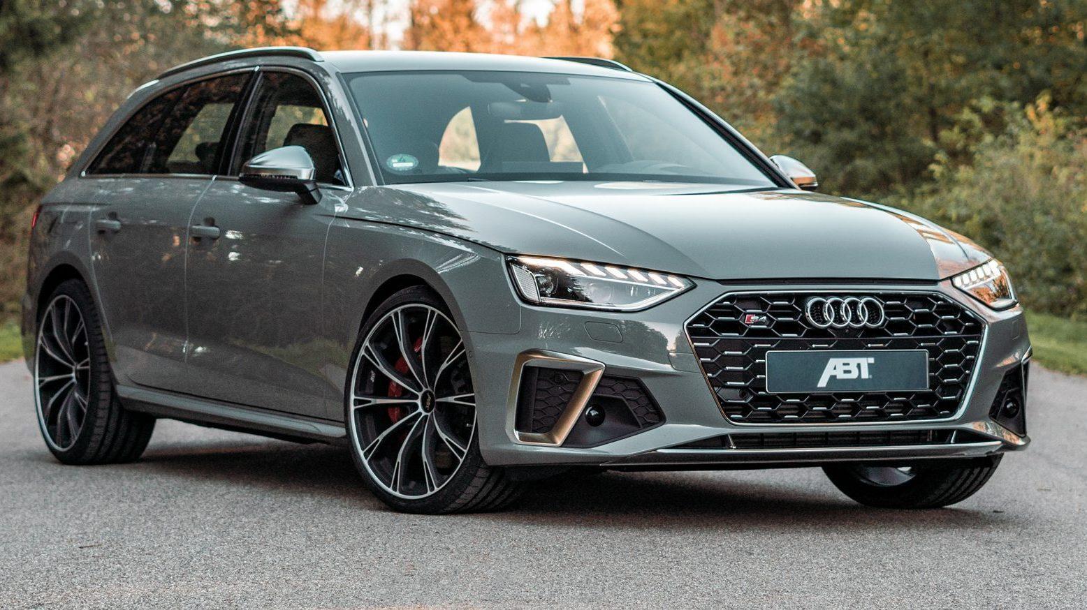 Abt Audi S4 drie kwart voor