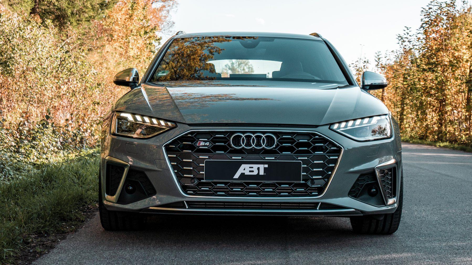 Abt Audi S4 recht voor