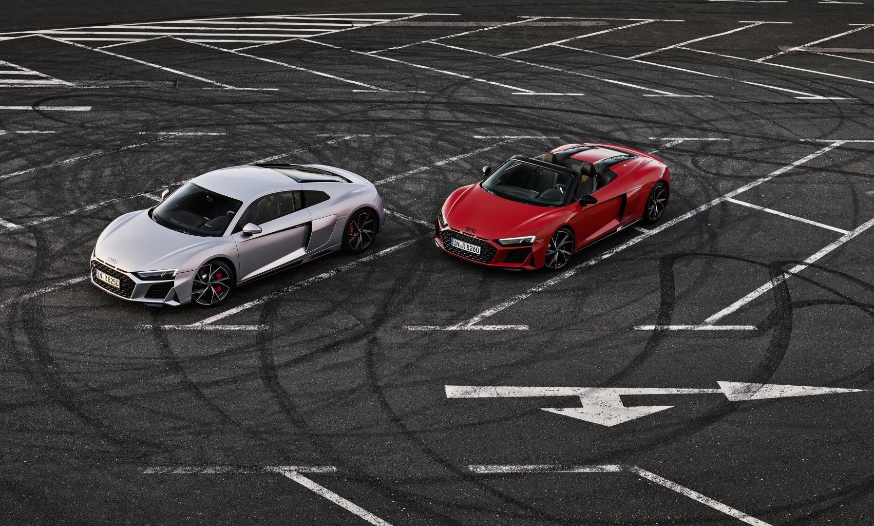 Audi R8 RWD en Spyder