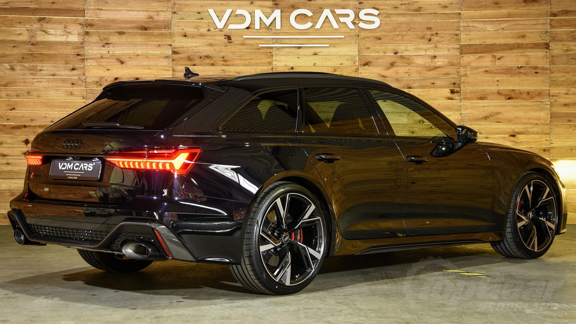 Audi RS 6 zwart in