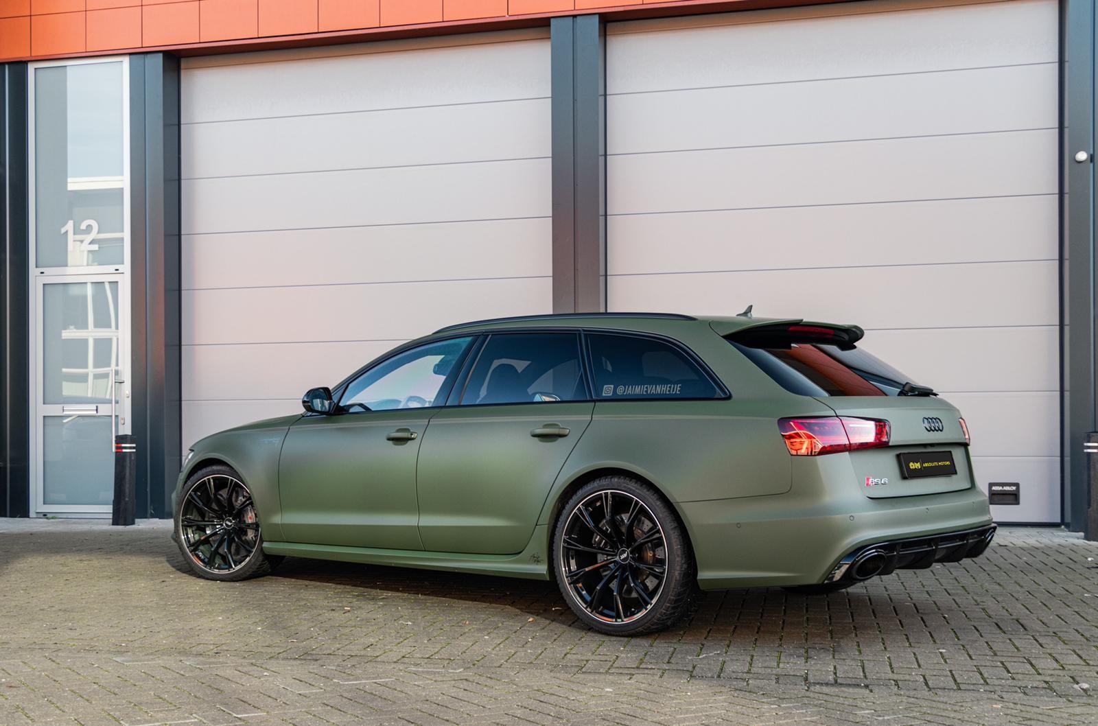 Audi RS 6 van Jaimie van Heije