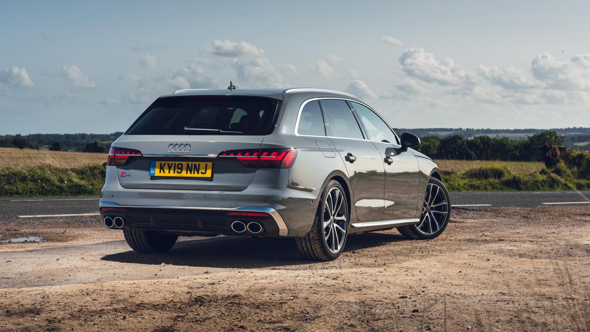 Audi S4 Avant 3.0 TDI Quattro 3 4 achter