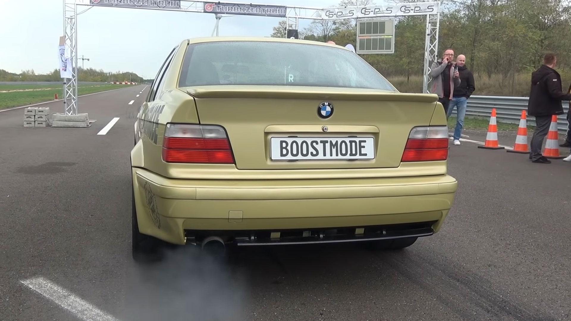 BMW 325i met 900 pk