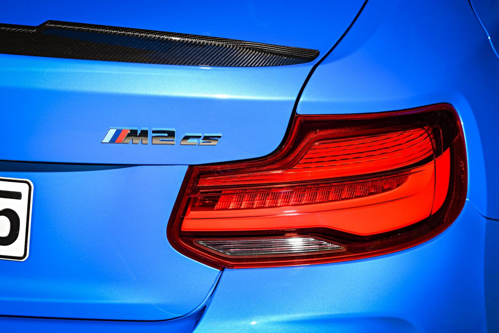 BMW M2 CS achterlicht