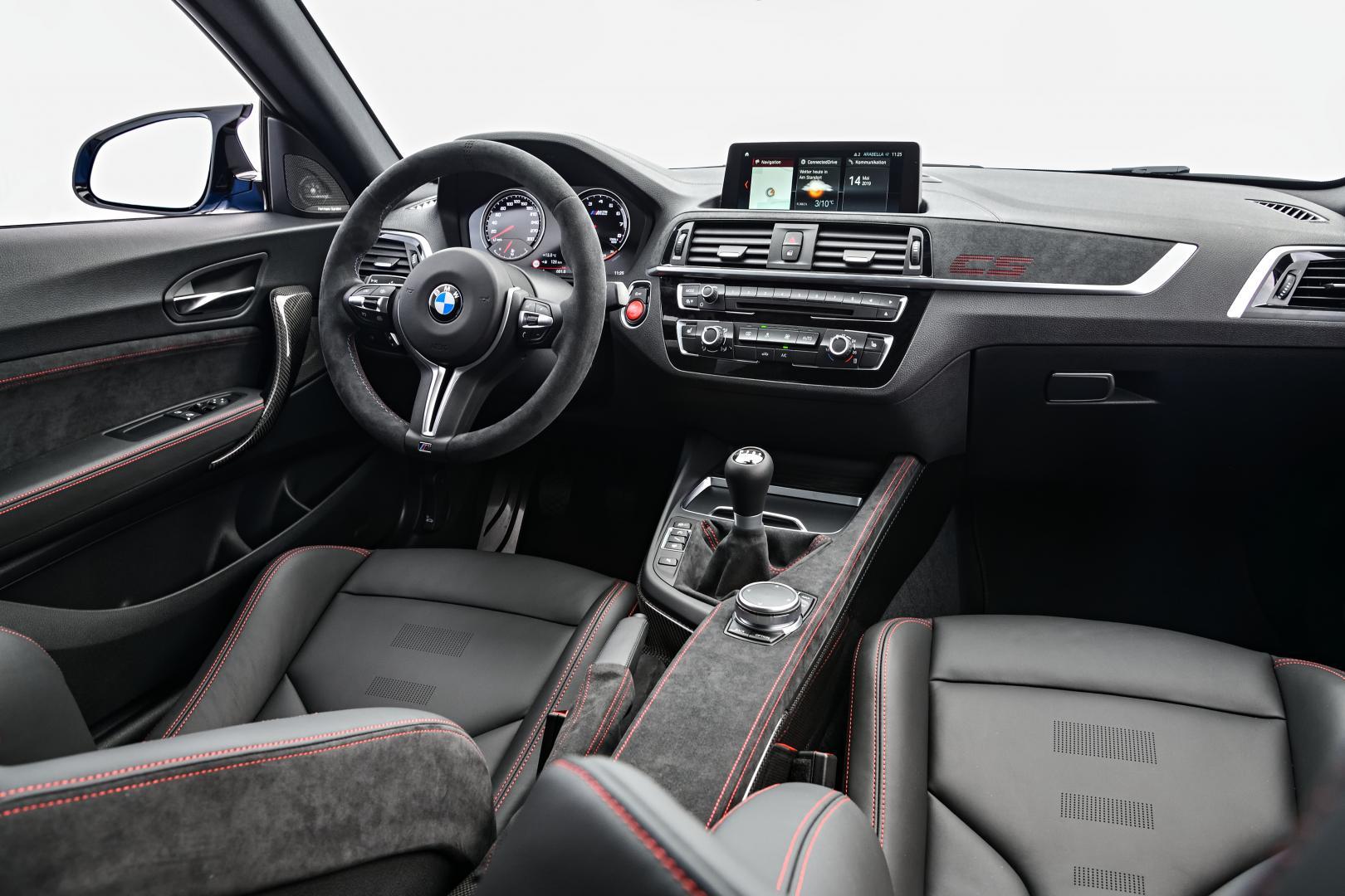 BMW M2 CS interieur