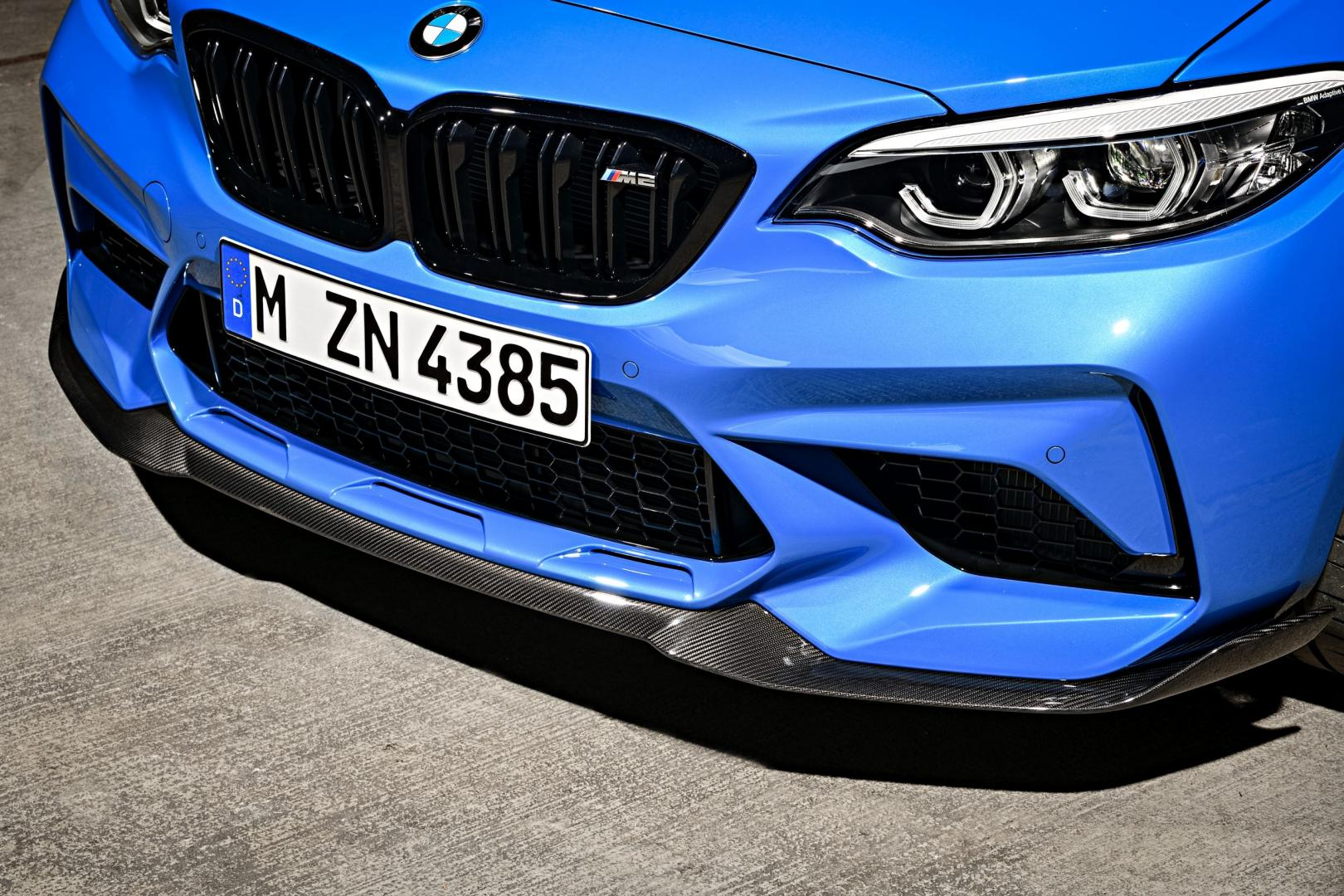 BMW M2 CS 2020 splitter