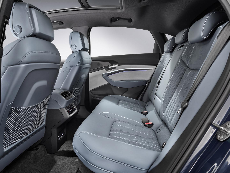 Audi e-tron Sportback 2020 interieur achterbank