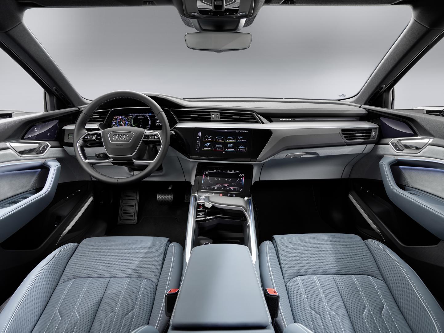 Audi e-tron Sportback 2020 interieur dashboard