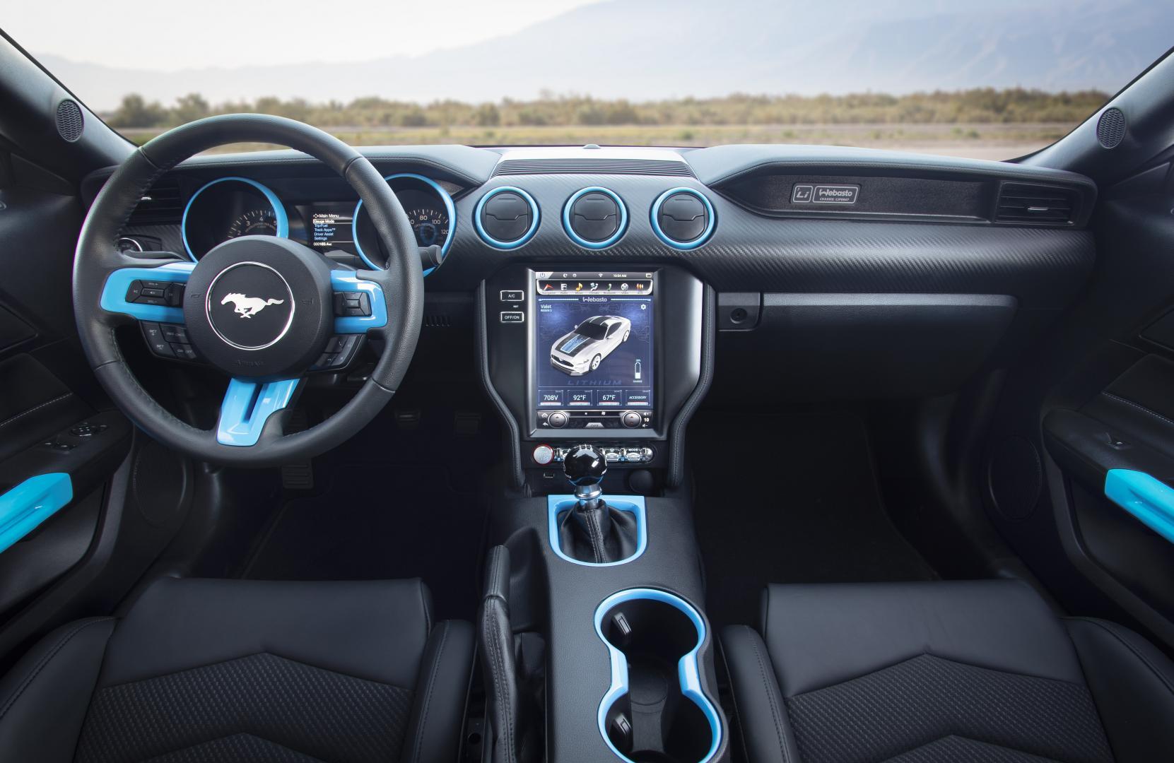 Elektrische Mustang