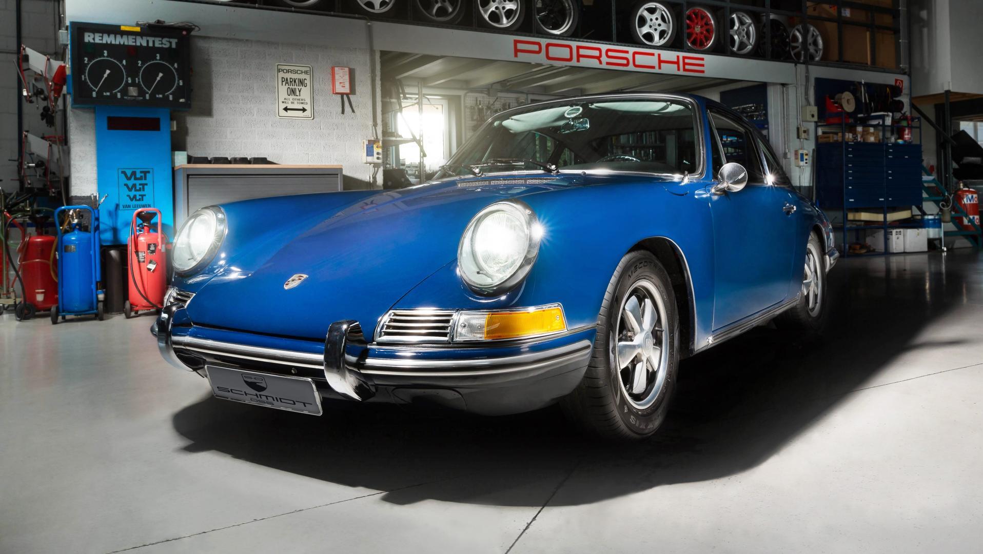 Elektrische Porsche 912 schmidt oss