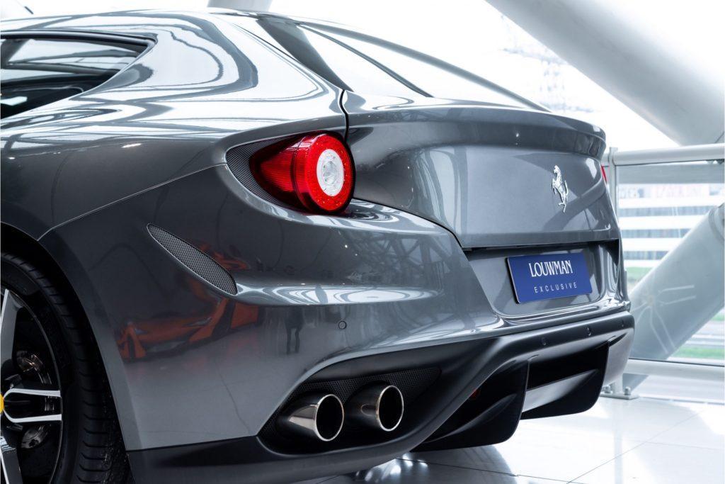 Ferrari FF Louwman Exclusive detail achterbumper
