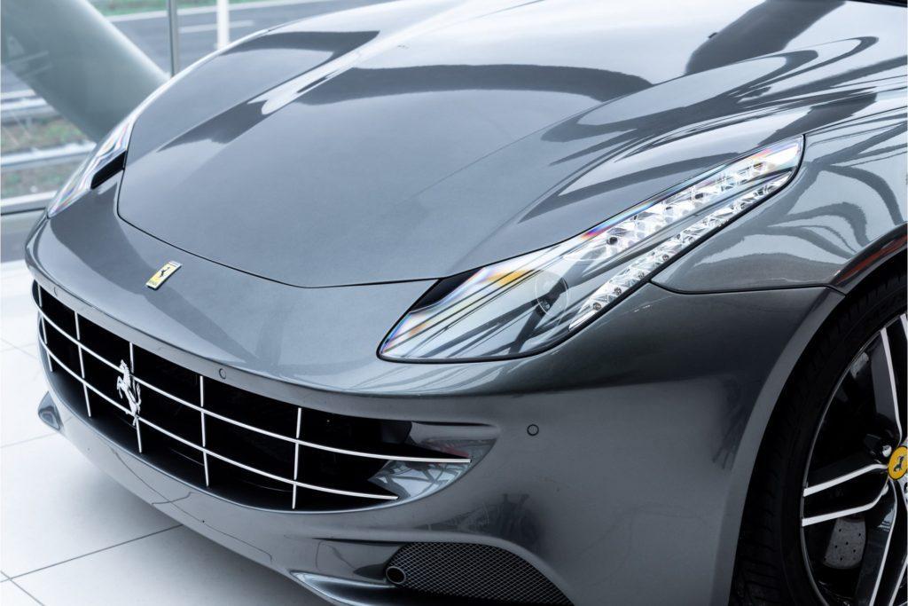 Ferrari FF Louman Exclusive detail voor grille