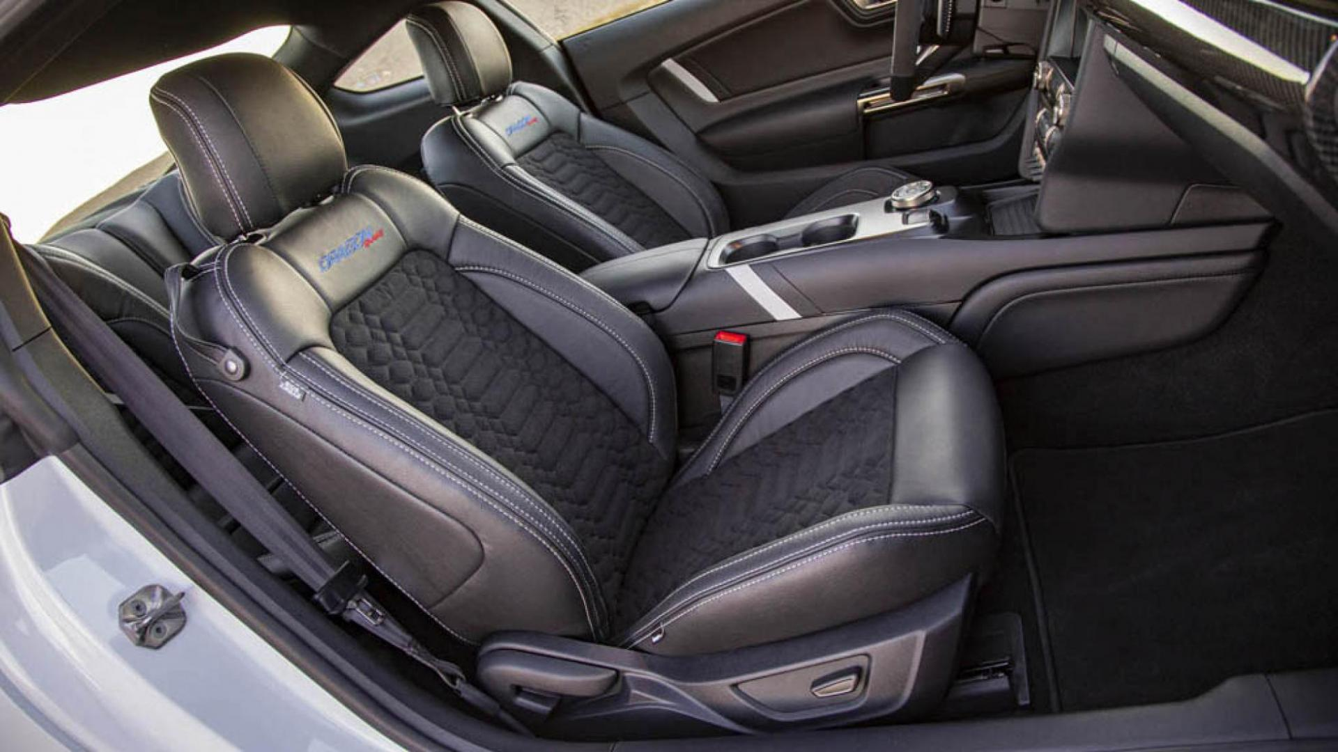 Shebly Ford Mustang GT500 Dragon Snake interieur