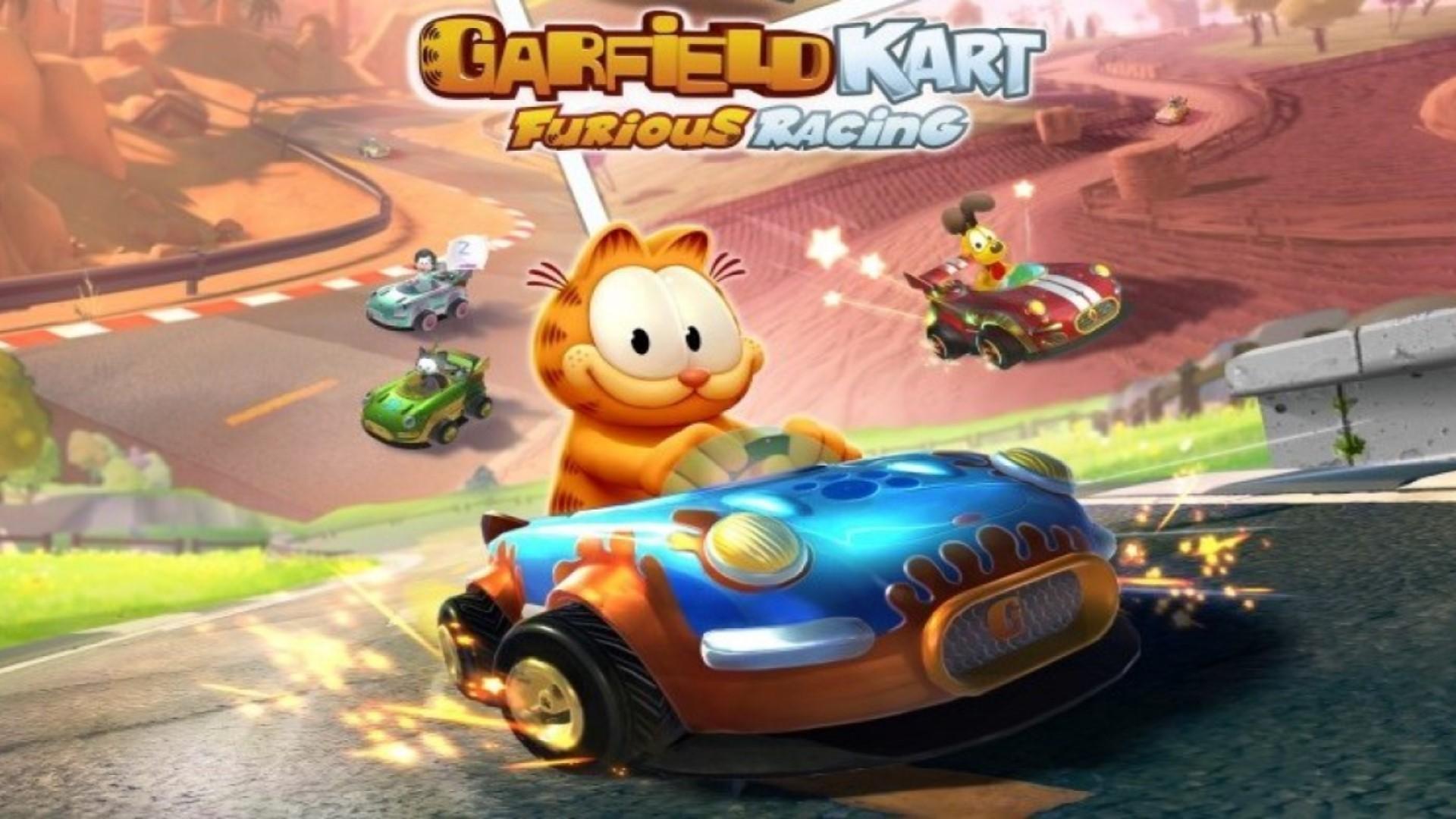 Garfield Karting: Furious Racing hoofdafbeelding