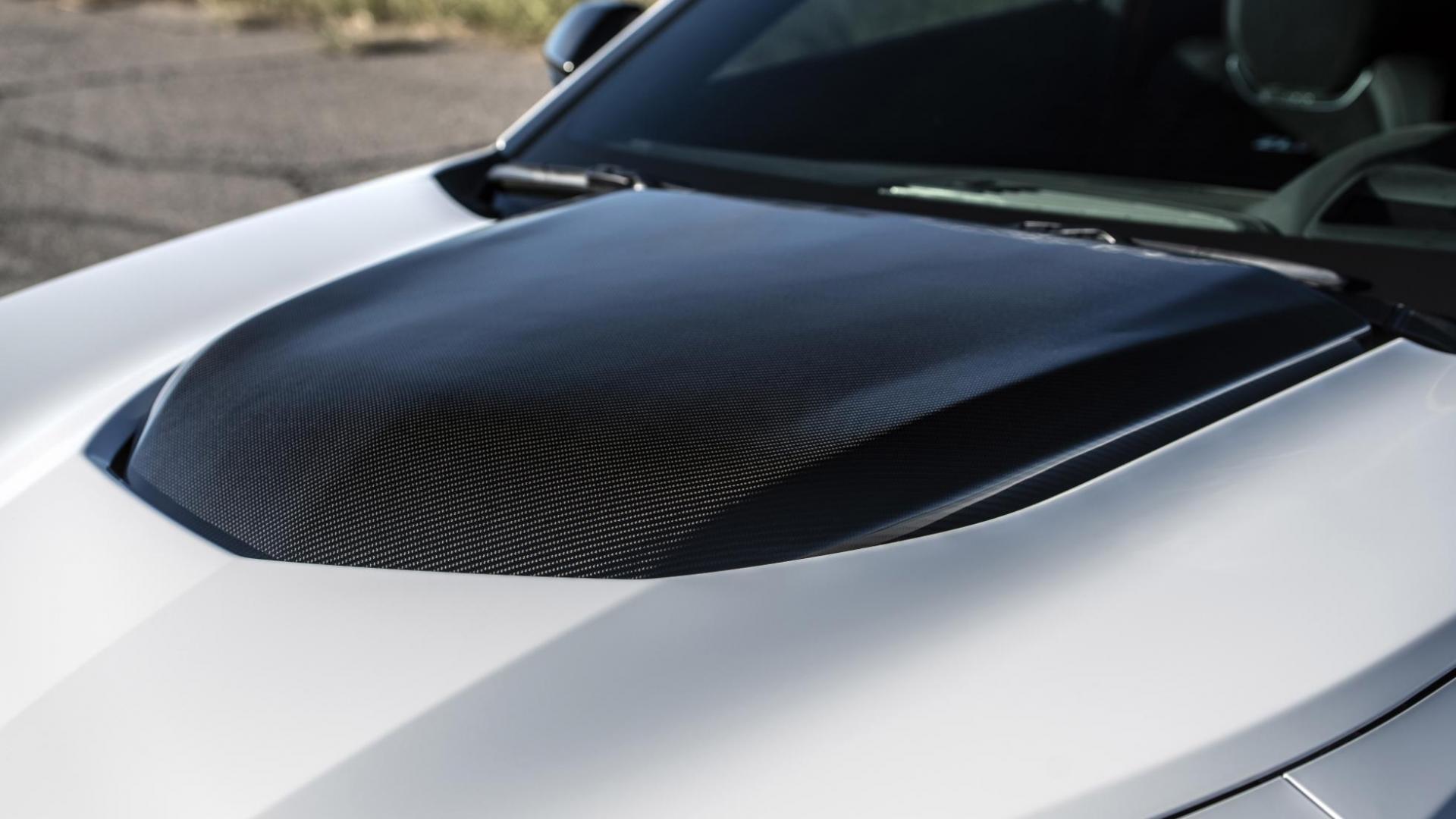 Hennessey Chevrolet Camaro Resurrection detail motorkap zoomed ver af