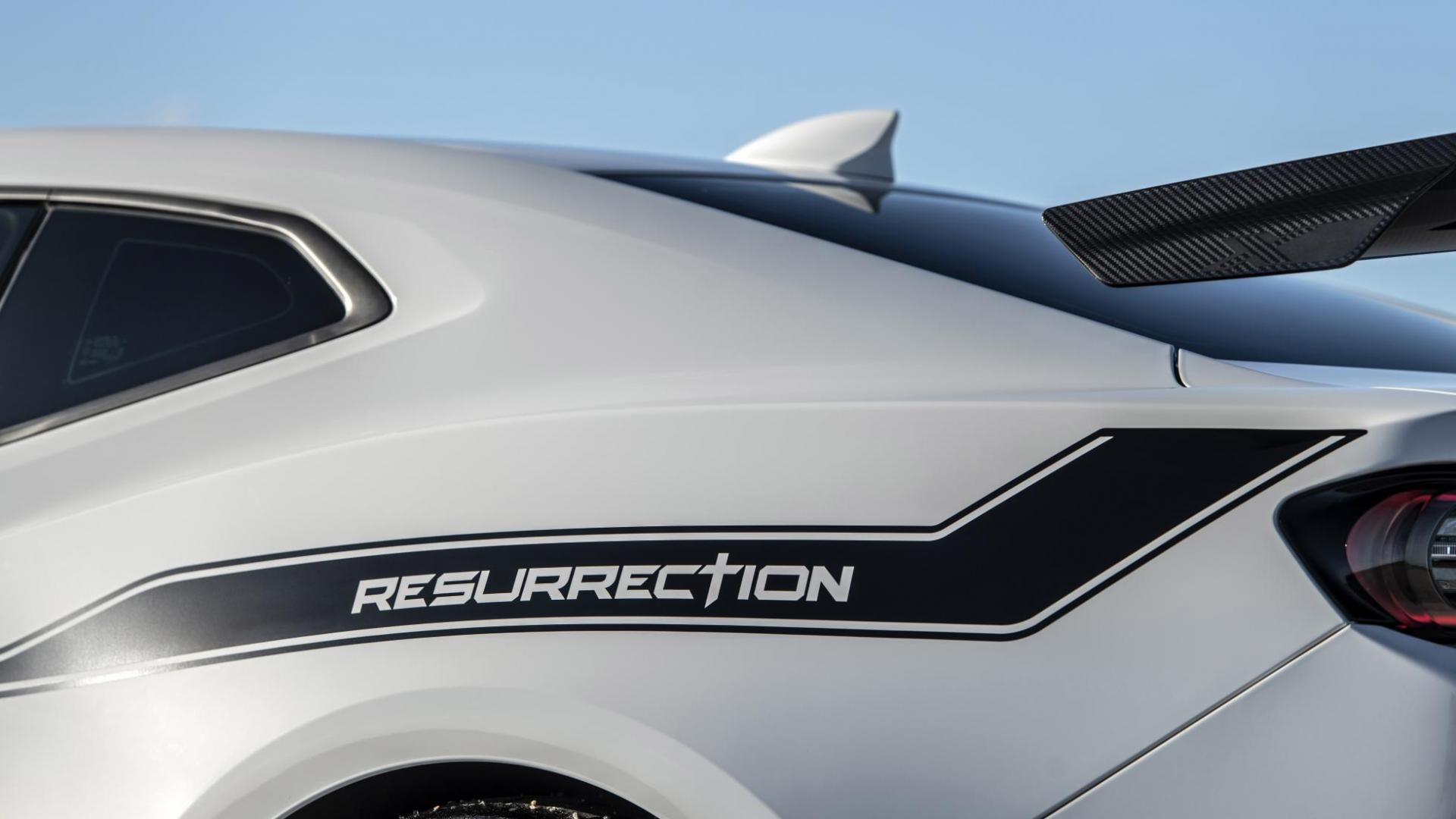 Hennessey Chevrolet Camaro Resurrection detail rechts achter zij