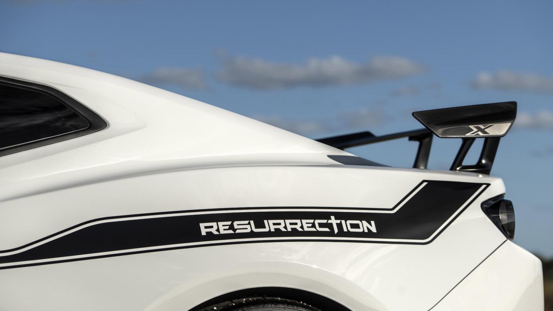 Hennessey Chevrolet Camaro Resurrection detail spoiler zij rechts