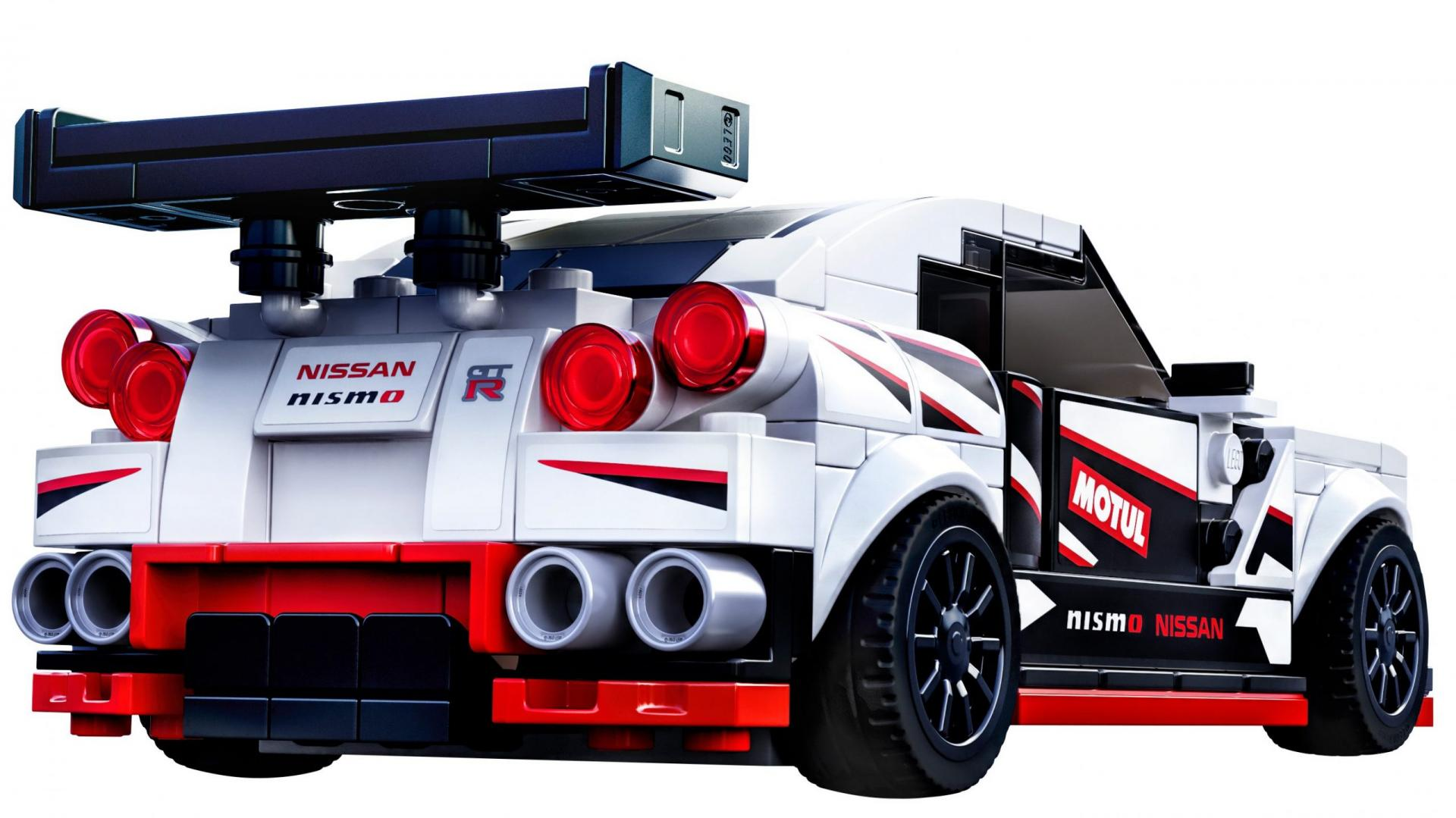 Lego Nissan GT-R Nismo 2020 3 4 achter