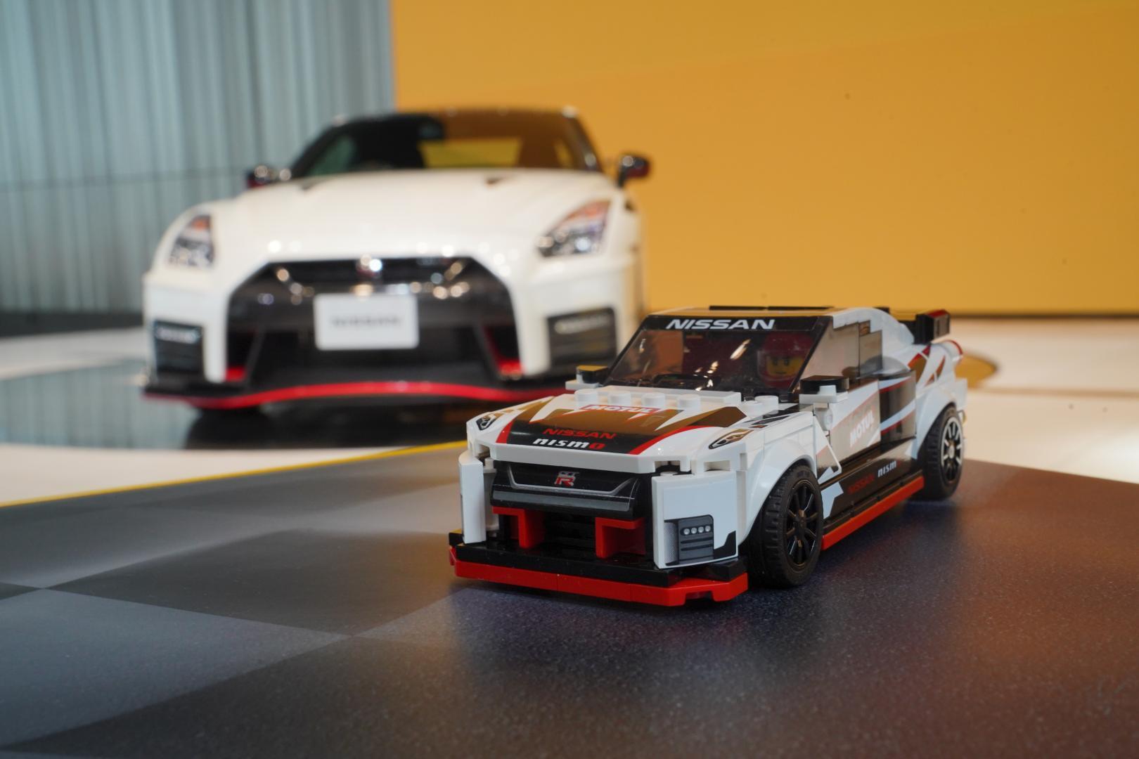 Lego Nissan GT-R Nismo lego voor echt achter 3 4
