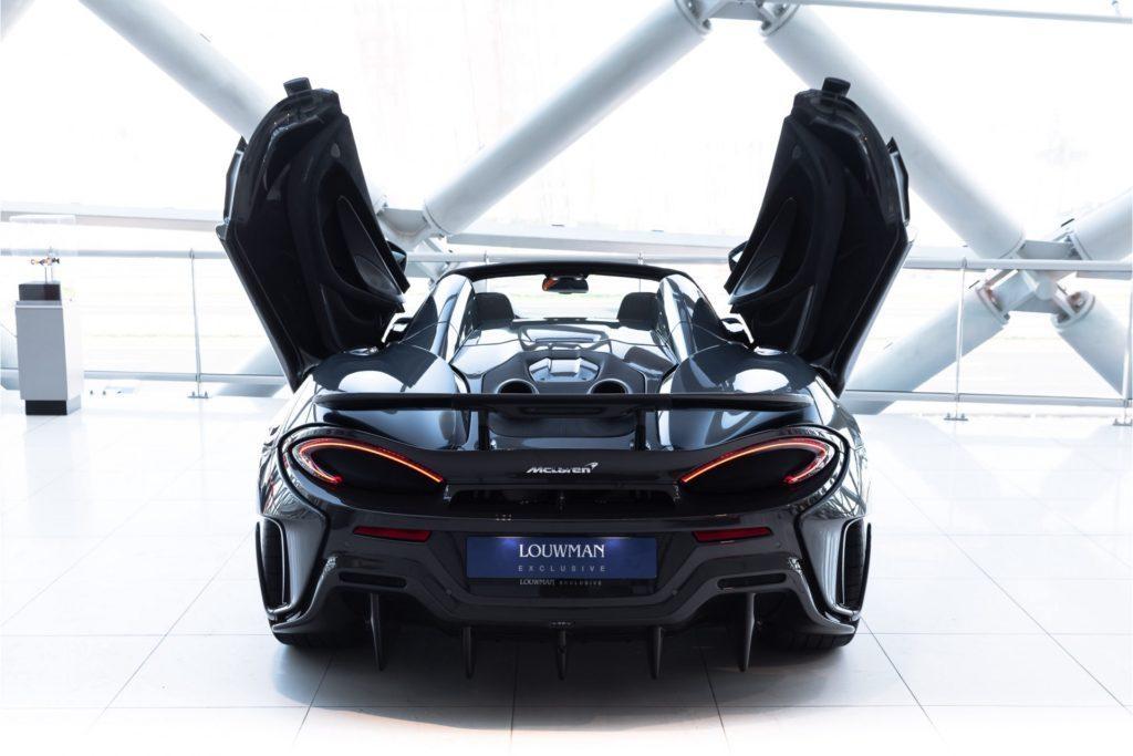 McLaren 600LT Spider achter