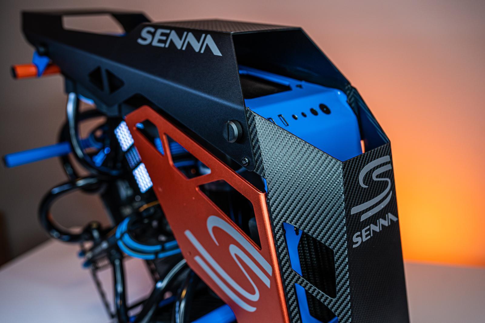 McLaren Senna PC detail boven