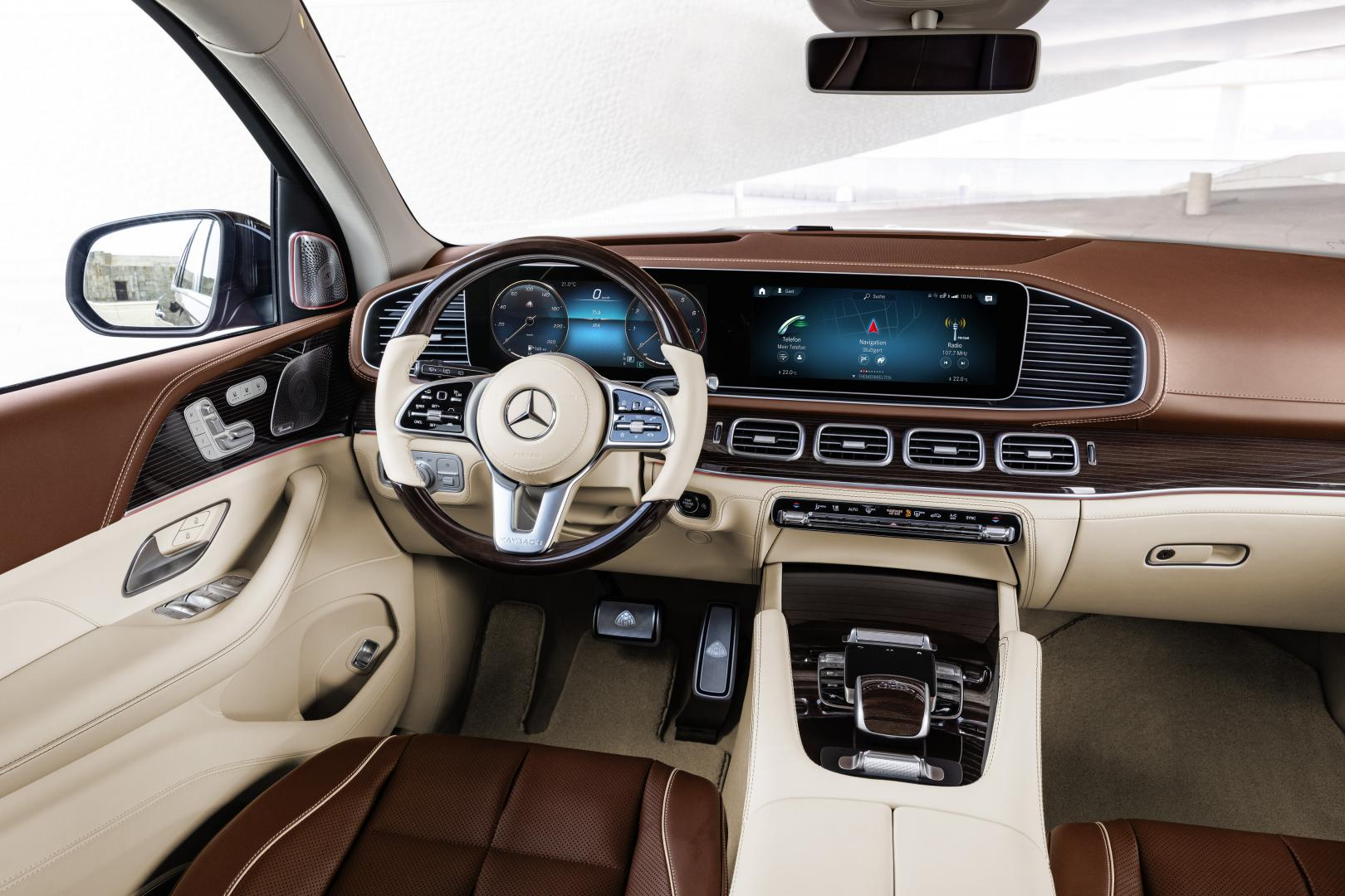 Mercedes-Maybach GLS 600 interieur stoelen