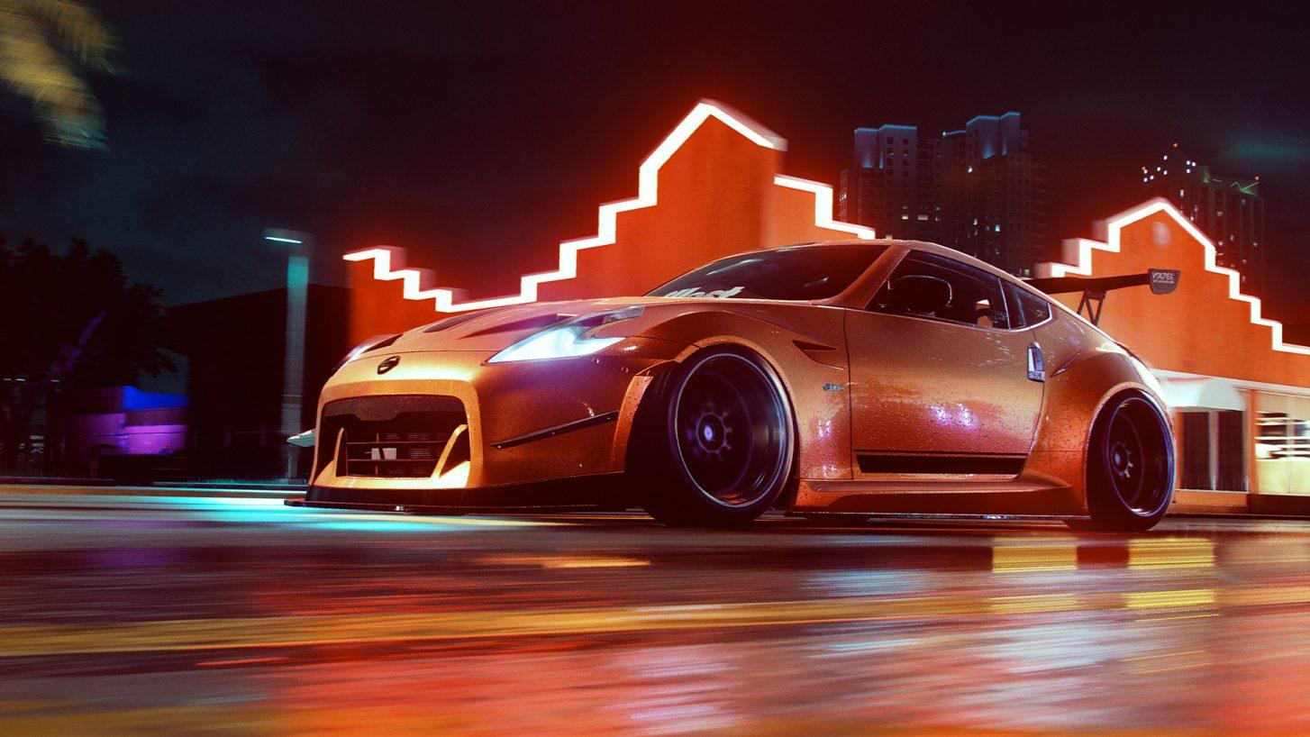 Need for Speed Heat Nissan 370Z