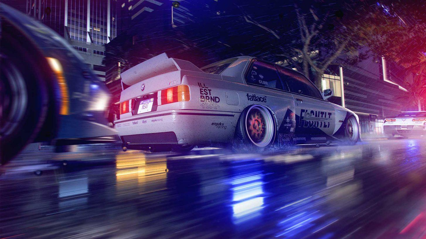 Need for Speed Heat BMW M3 E30