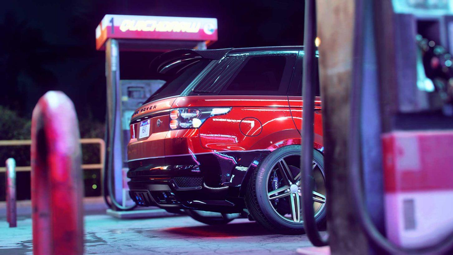 Need for Speed Heat Range Rover Sport