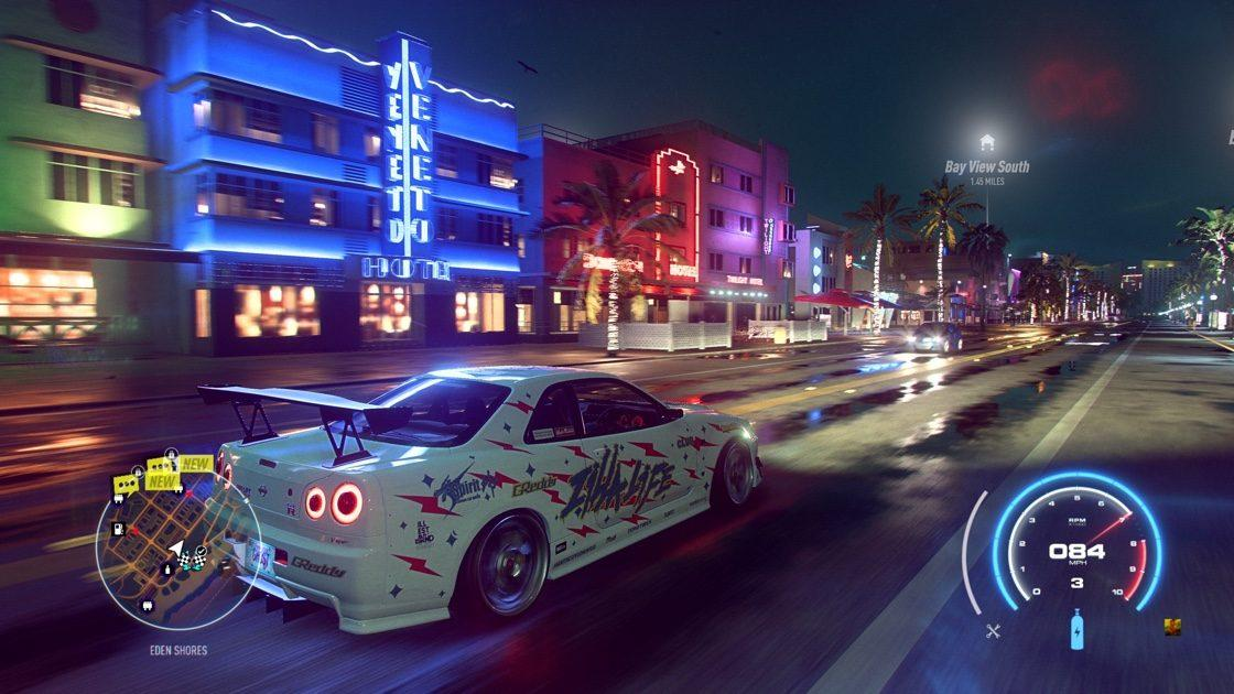 Need for Speed Heat Nissan Skyline R34