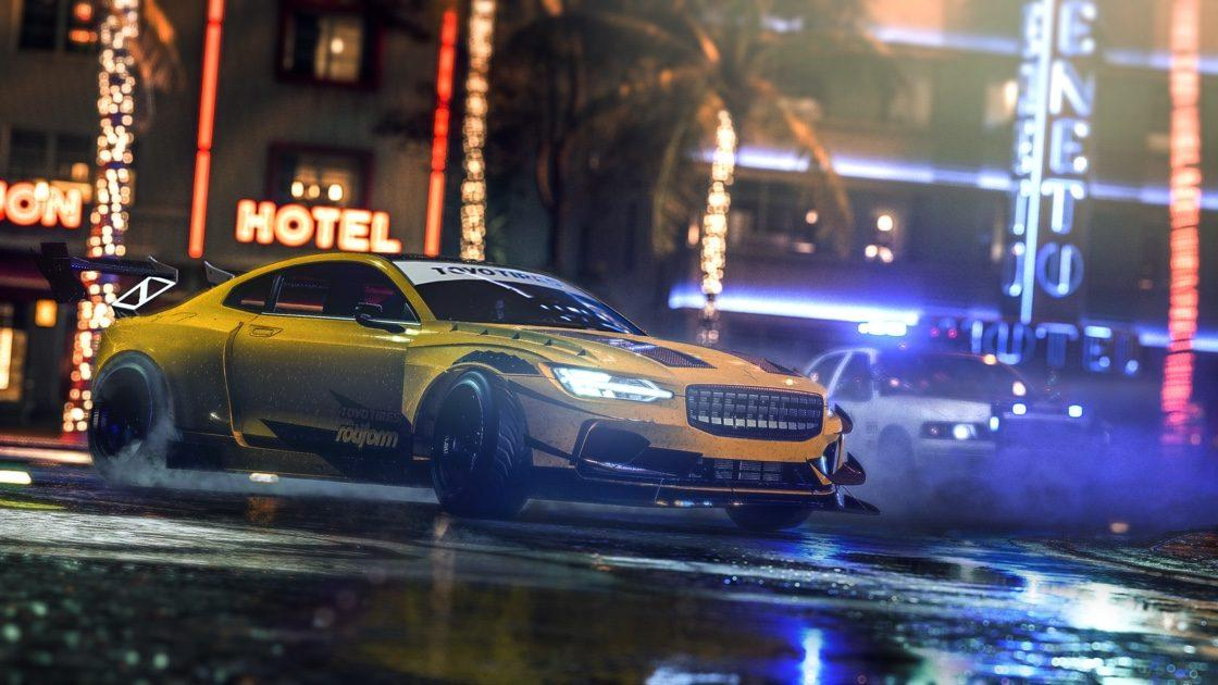Need for Speed Heat Polestar 1