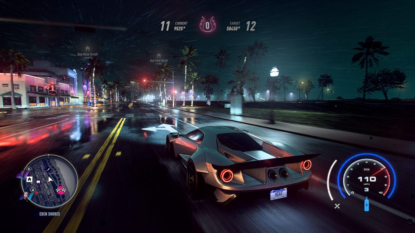 Need for Speed Heat Ford GT