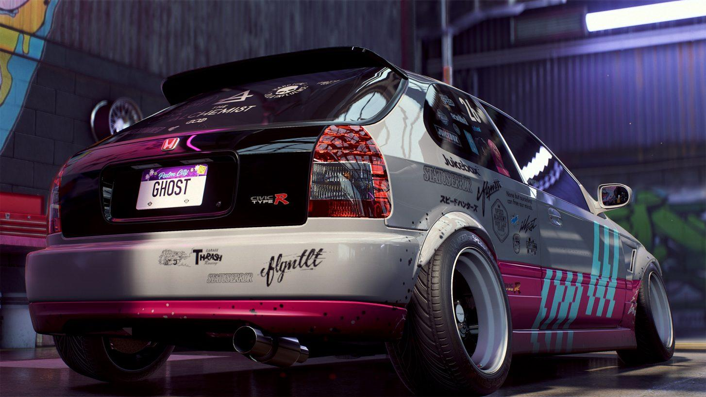 Need for Speed Heat Honda Civic Type R