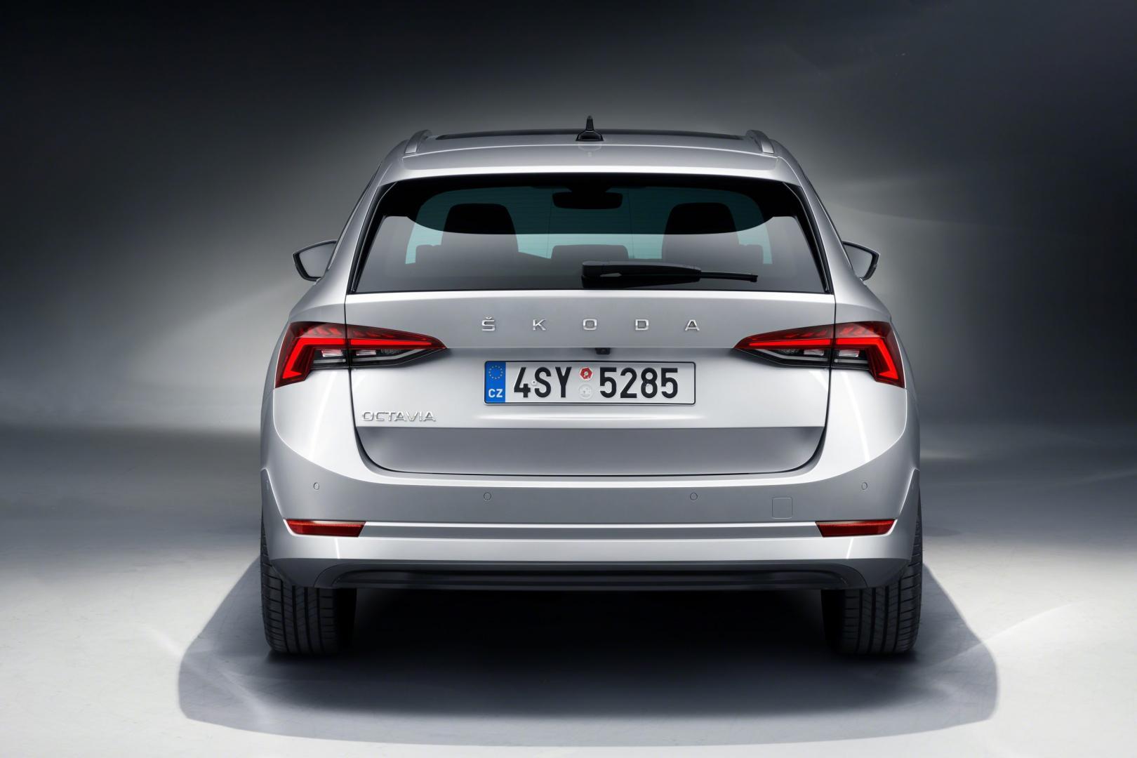 Nieuwe Skoda Octavia Combi 2020