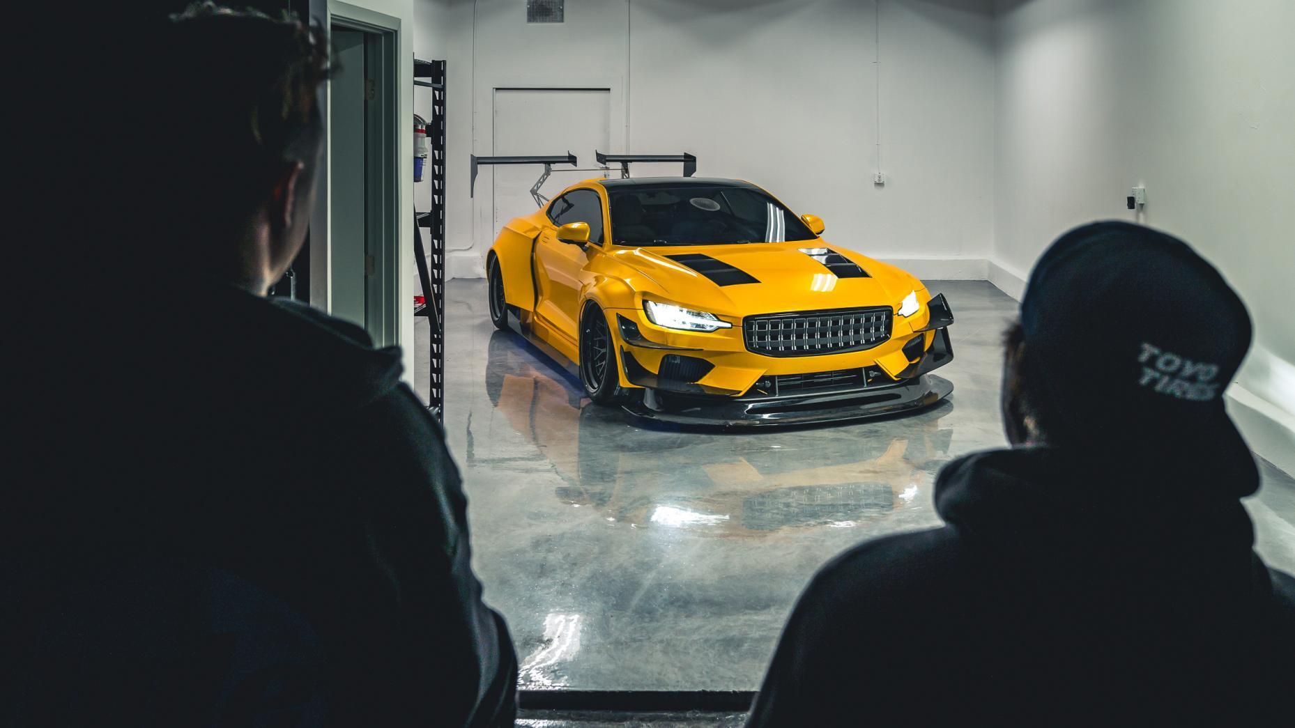Polestar 1 uit NFS garage