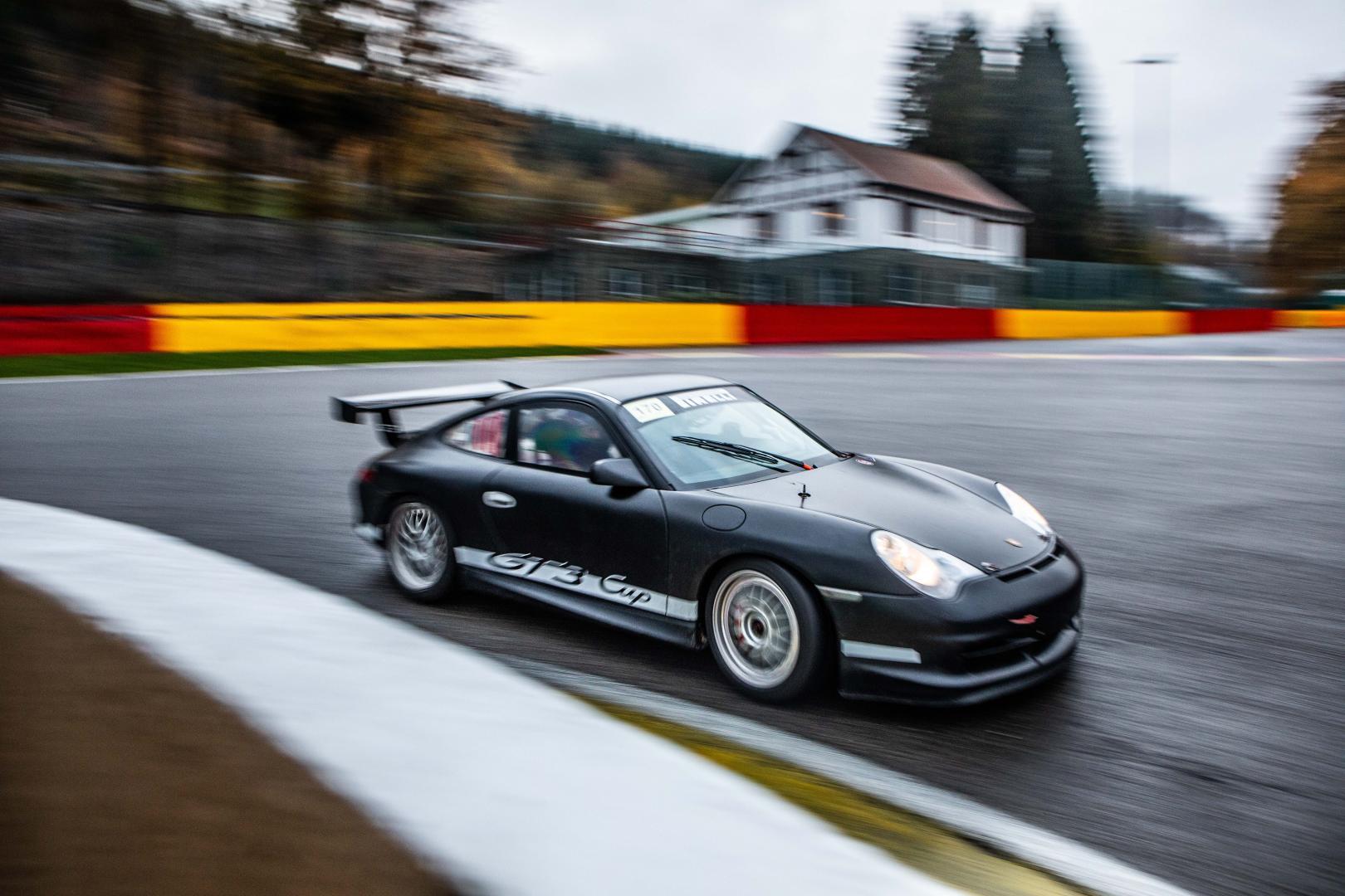 Porsche GT3 Cup Paul Vlasblom drie kwart in La Source