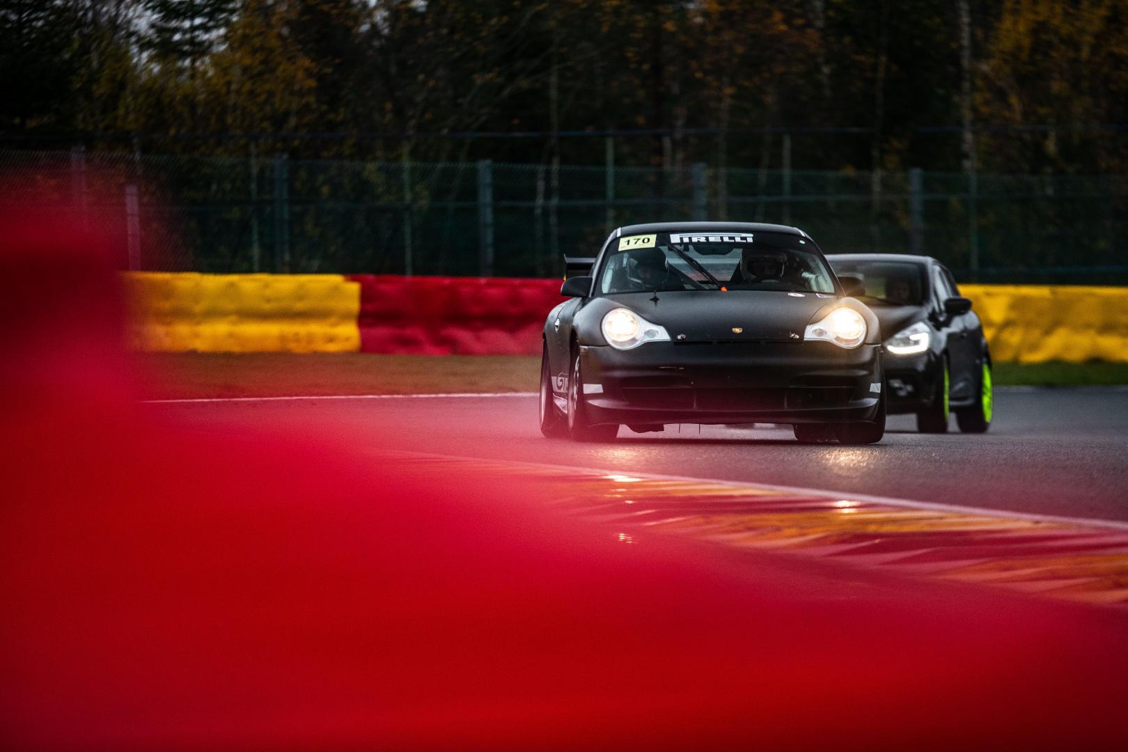 Porsche GT3 Cup Paul Vlasblom voor uit Blanchimont