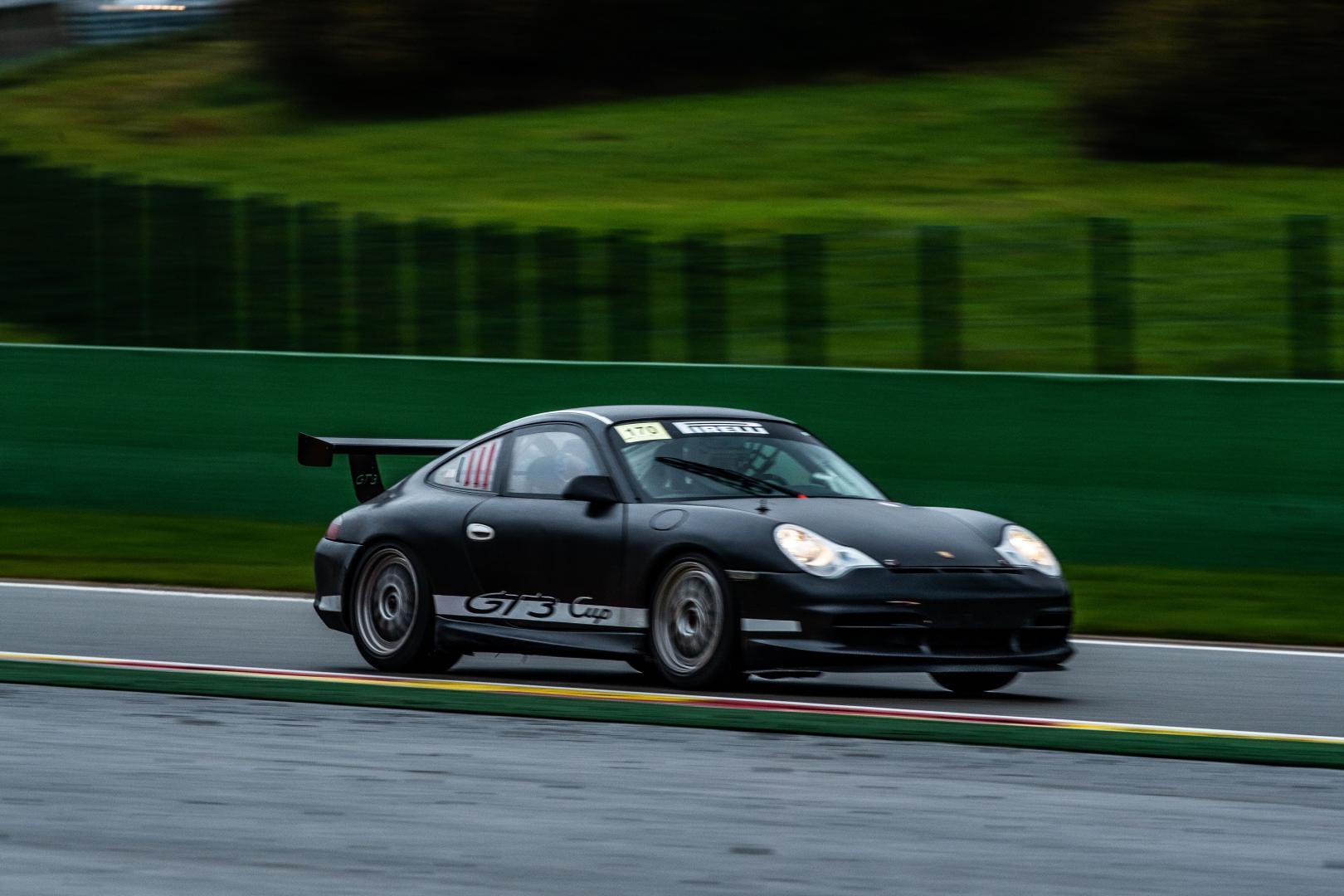 Porsche GT3 Cup Paul Vlasblom voor zij